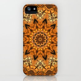 Christmas Gold iPhone Case