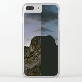 Minutes Apart Clear iPhone Case
