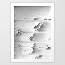 Japanese Glitch Art No.5 Art Print