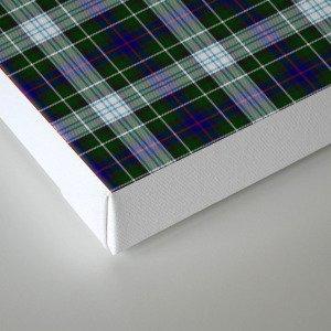 Clan MacKenzie Tartan Canvas Print