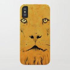 Lion iPhone X Slim Case