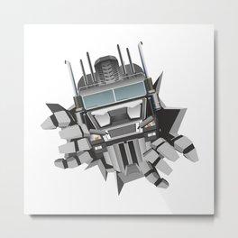 Robot Metal Print