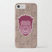 tyler durden iPhone & iPod Cases featuring Tyler Durden - FightClub by Kuki