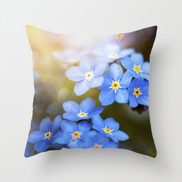 Don't Forget Me no.3863 Throw Pillow