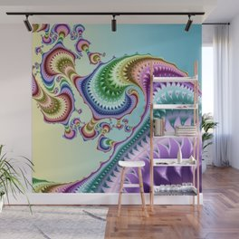 Whimsical colorful gulfstream Wall Mural