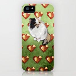 Gem the Diva Cat iPhone Case