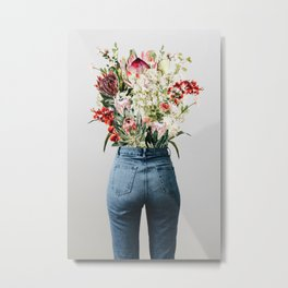 Bottomless Bouquet Metal Print