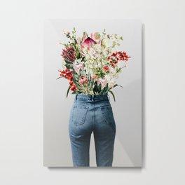 Bottomless Bouquet Metal Print