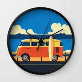 Surfer Bully Wall Clock