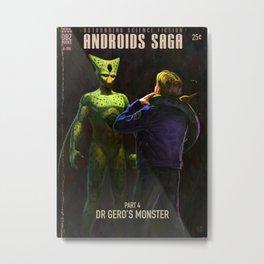 Androids Saga - Dr Gero's Monster Metal Print