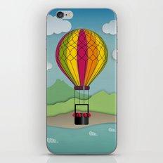 Balloon Aeronautics Sea & Sky iPhone & iPod Skin