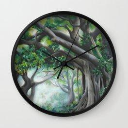 Mundingburra Mornings Wall Clock