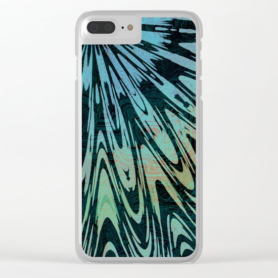Native Tapestry Clear iPhone Case
