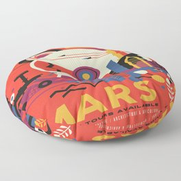 Mars Tour : Space Galaxy Floor Pillow