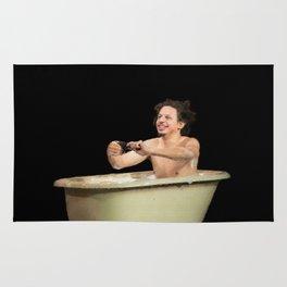 Eric Andre In A Bath Tub Rug