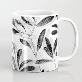 Autumn Leaves Black Coffee Mug