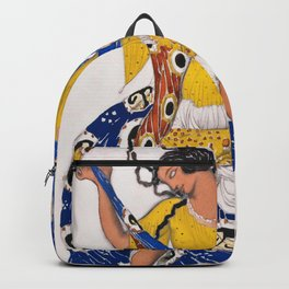 Leon Bakst - The Butterfly, Costume Design for Anna Pavlova - Digital Remastered Edition Backpack