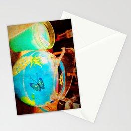 blue kool aid. Stationery Cards