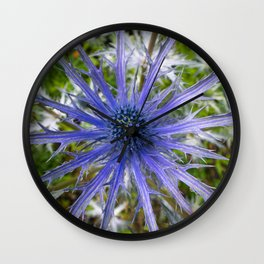 A thistle with style Wall Clock