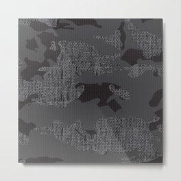 Hessian camo  Metal Print