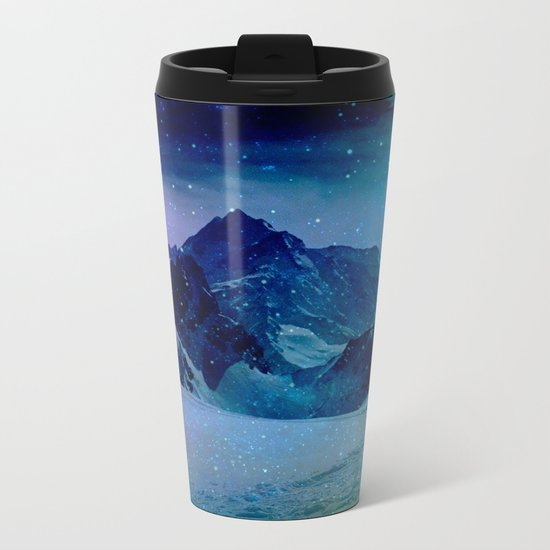 Enchanted Mountain Metal Travel Mug
