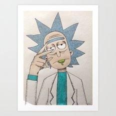 Suh Rick Art Print