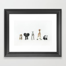 ANIMALS COLLECTION N2 Framed Art Print