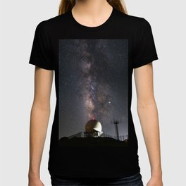 Milky Way over Mount Laguna Observatory 2 T-shirt