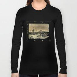 Cleveland Ambrotype Crop Long Sleeve T-shirt