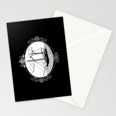Sailing Ship Oval Stationery Cards
