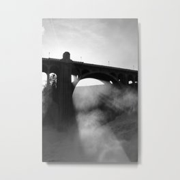 Flee From The Deadly Light Metal Print