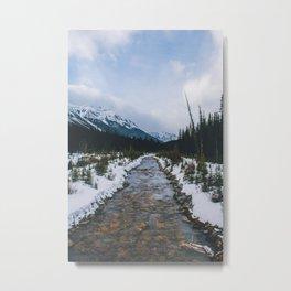 Spray Lakes, Canmore V Metal Print