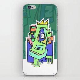 Zom B King iPhone Skin