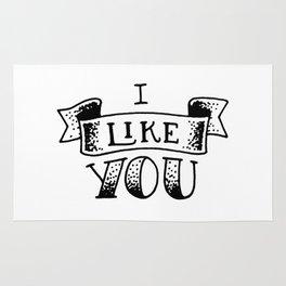 I like you Rug