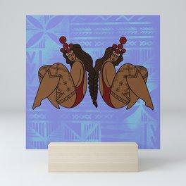 UrbanNesian Samoan Sister Mini Art Print