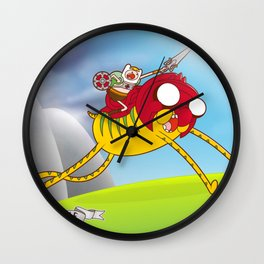 Power Time Wall Clock