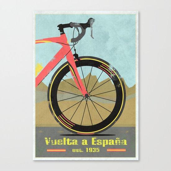 Vuelta a Espana Bike Canvas Print