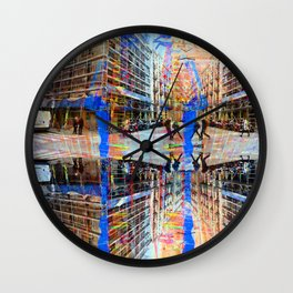 Akin to recalling, instead; understood mimicry. 11 Wall Clock