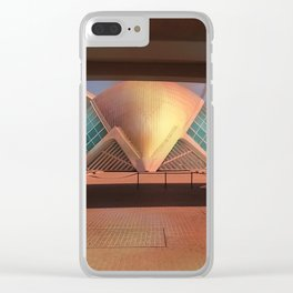 City of Arts and Sciences (Valencia-Spain) Clear iPhone Case