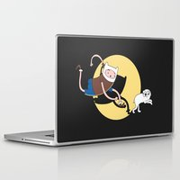 tintin Laptop & iPad Skins featuring Adventure Tin by Moysche Designs