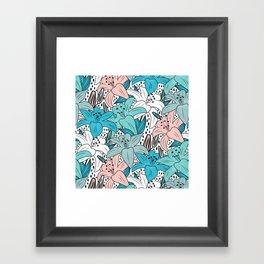 Fresh garden  Framed Art Print