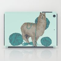 lama iPad Cases featuring Lama by Anoukisch