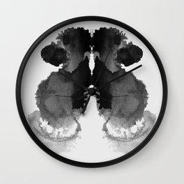 Form Ink Blot No. 8 Wall Clock