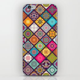 bohemian pattern iPhone Skin