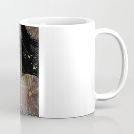 Pink Lily in Pond Coffee Mug