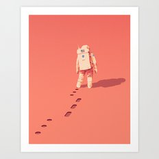 The Martian Art Print