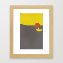 It Will All Work Out Framed Art Print