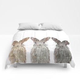 Triple Bunnies Comforters