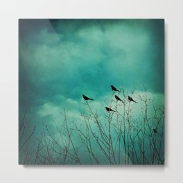 Like Birds on Trees Metal Print