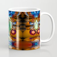 pain Mugs featuring Pain by Tami Cudahy